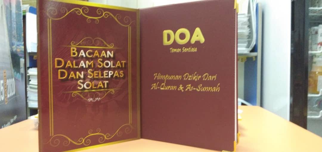 Set Buku Doa BM - RM18.00