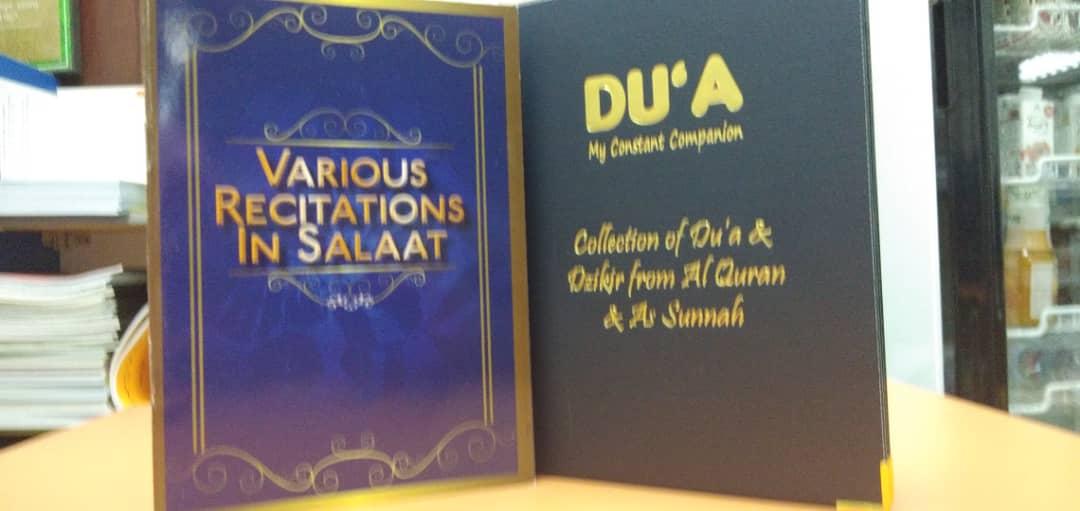 Set Buku Doa ENG - RM18.00