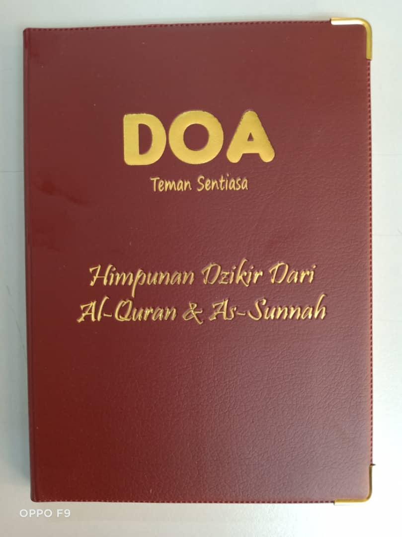 Buku Doa Teman Sentiasa (BM) - 200pcs - RM1,500.00